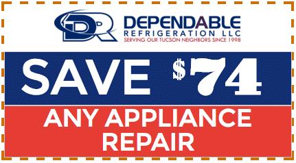 Tucson Appliance Repair Coupon